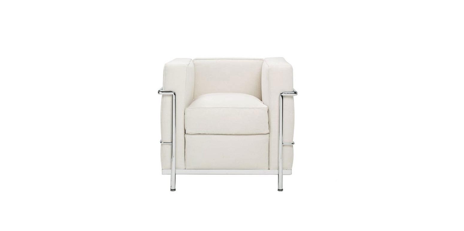stockware sales fauteuil lc2 par le corbusier. Black Bedroom Furniture Sets. Home Design Ideas