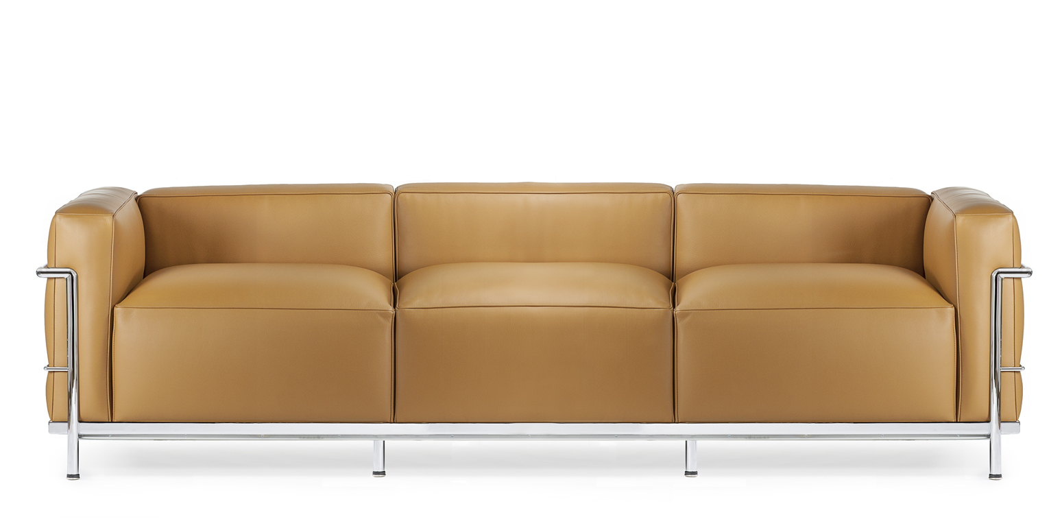 Lc3 Three Seater Sofa Reproduction By