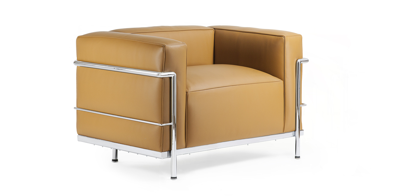 LC3 Armchair Reproduction by Le Corbusier