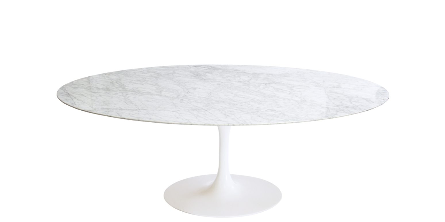 Table tulipe ovale - Saarinen table ovale ...