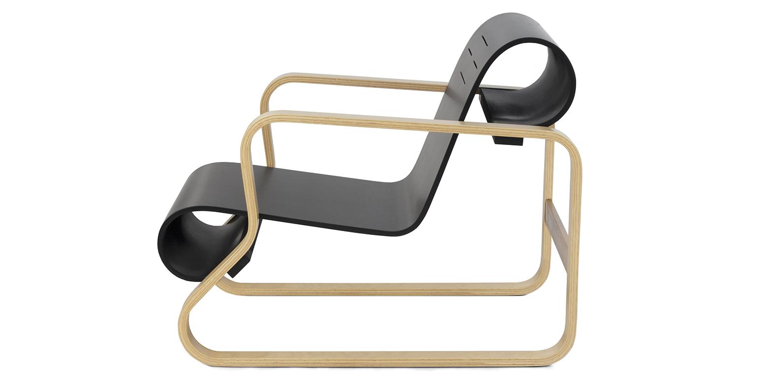 fauteuil paimio par alvar aalto. Black Bedroom Furniture Sets. Home Design Ideas
