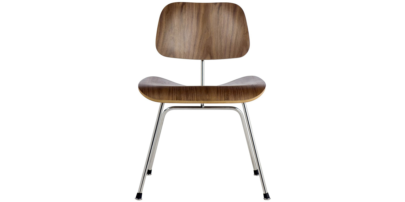 Plywood group dcm chair charles eames for Charles eames stoel