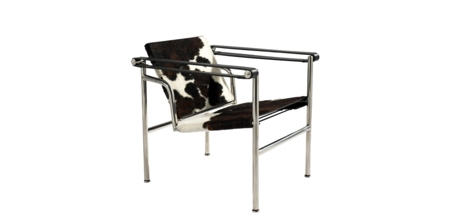 lc1 basculant stoel pony van le corbusier. Black Bedroom Furniture Sets. Home Design Ideas