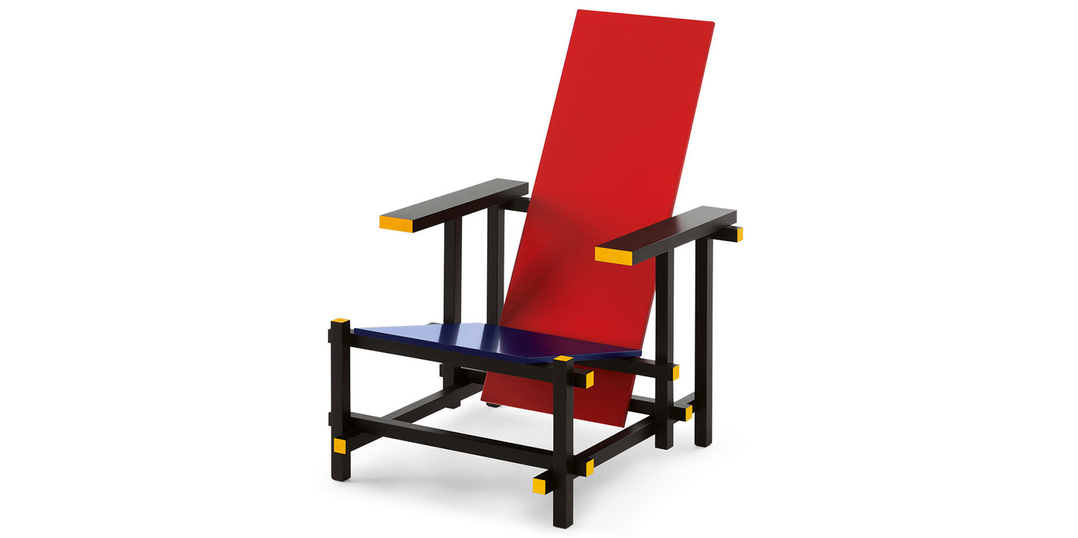 Red Amp Blue Armchair By Gerrit Thomas Rietveld