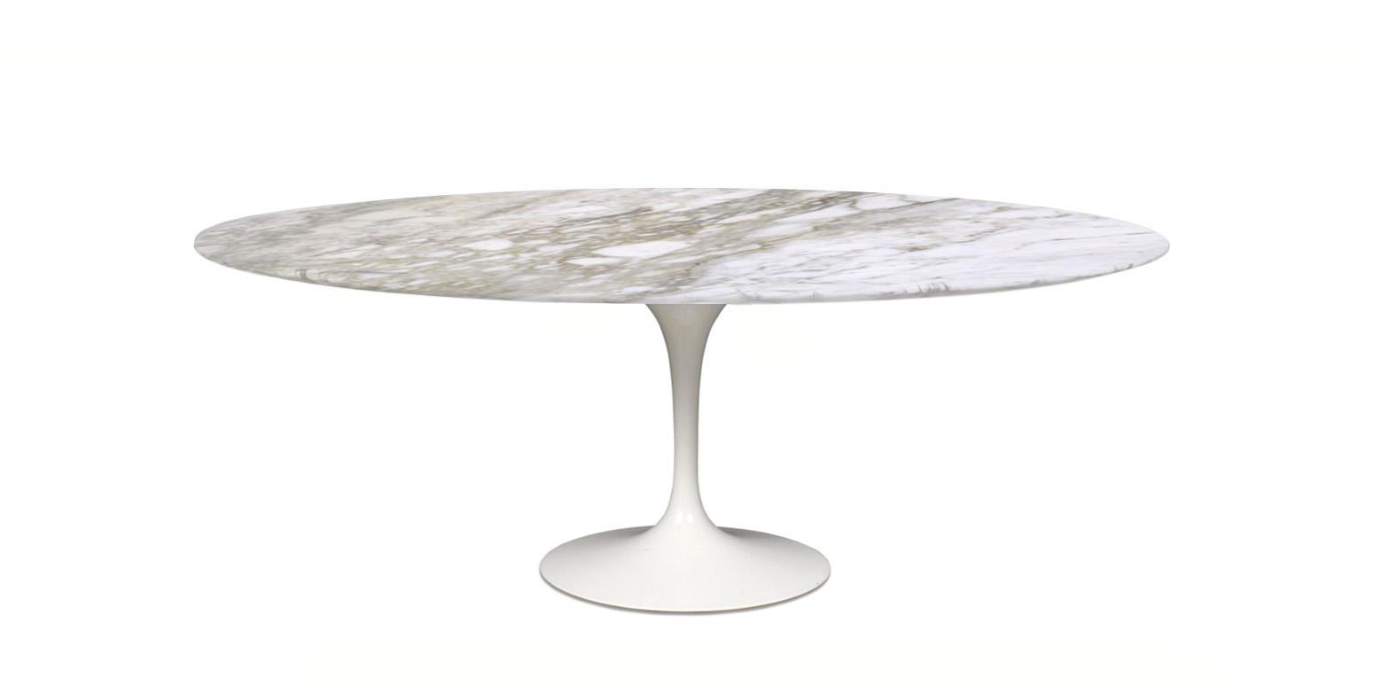 Stockware S Oval Tulip Table