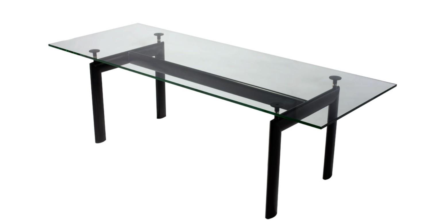 Lc6 tisch von le corbusier for Ea 119 nachbau