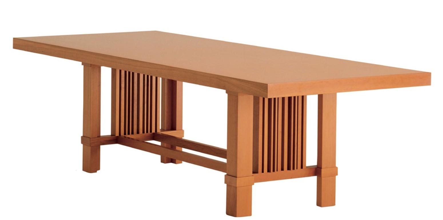 table taliesin par frank lloyd wright. Black Bedroom Furniture Sets. Home Design Ideas