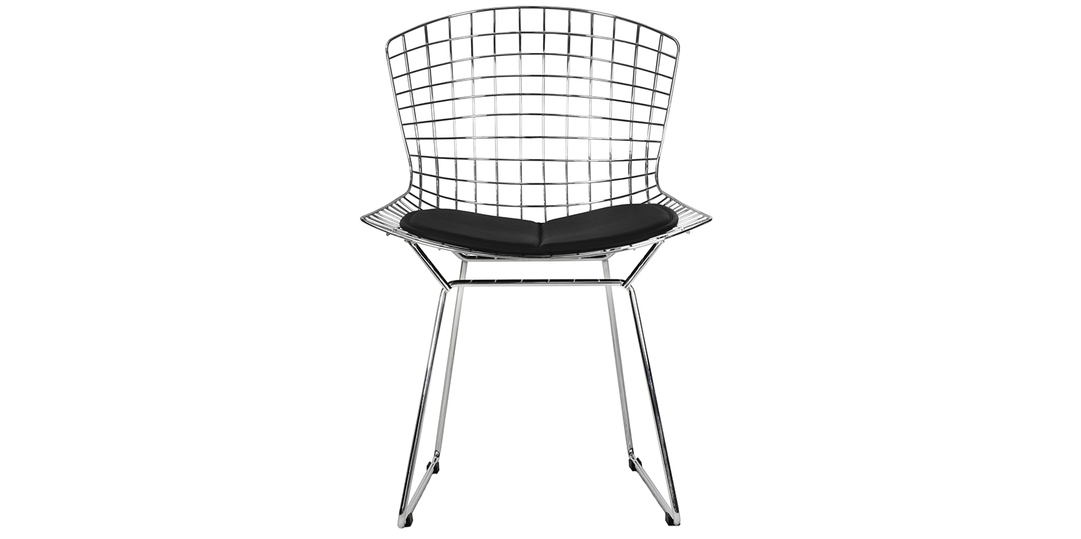 Chaise Fil De Fer Par Harry Bertoia