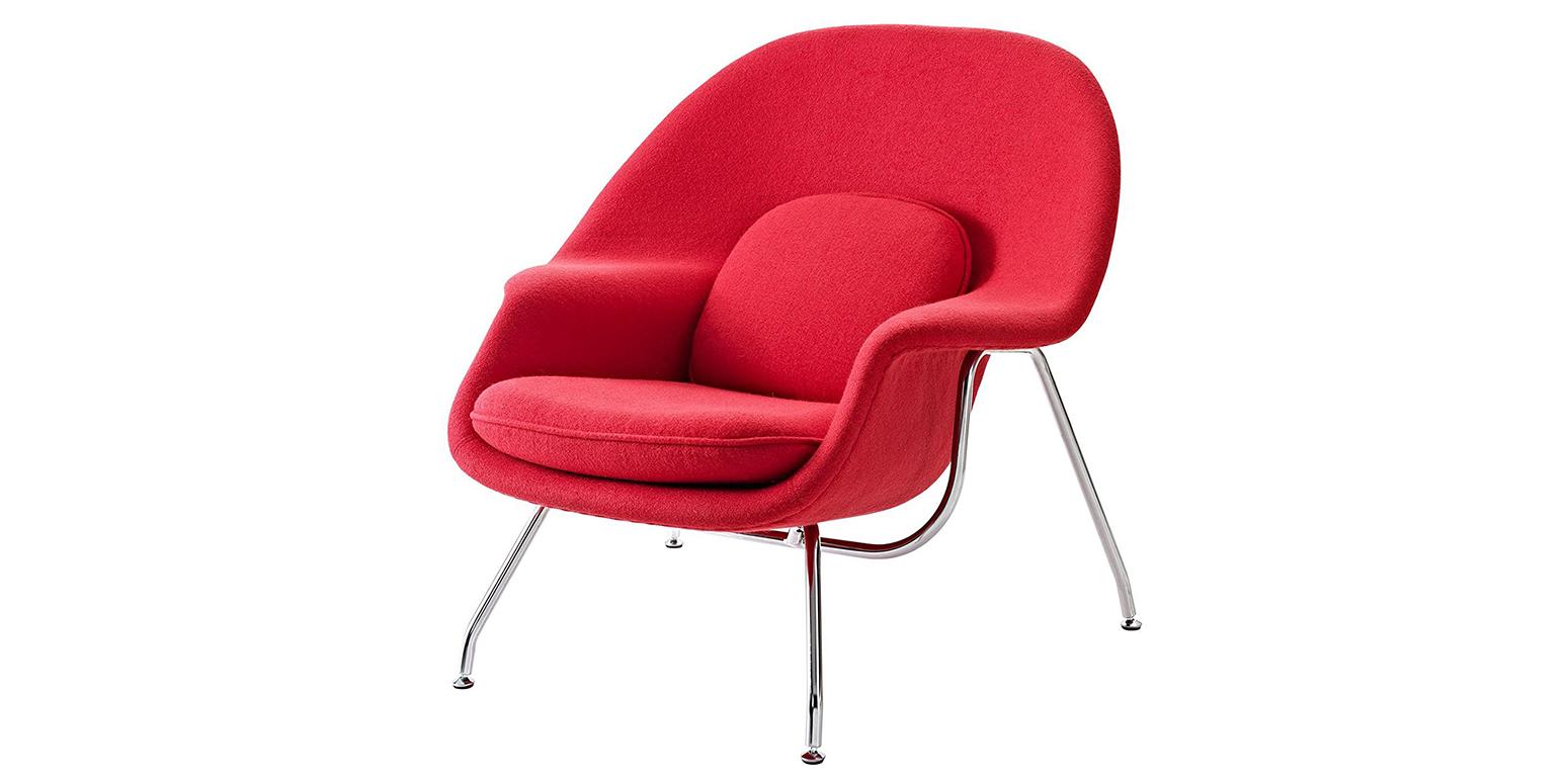 womb chair saarinen stoel. Black Bedroom Furniture Sets. Home Design Ideas