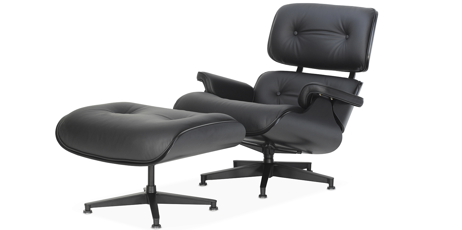 Outstanding Replica Lounge Chair And Ottoman By Charles Eames Lamtechconsult Wood Chair Design Ideas Lamtechconsultcom