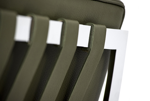 Barcelona Chair back details