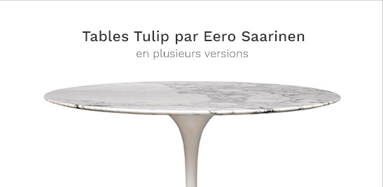 Tulip tables in countless version