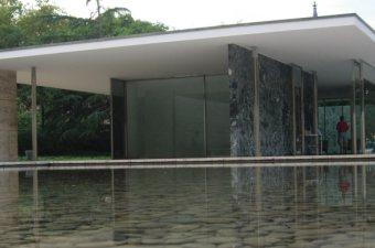Barcelona pavillon modell