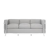 lc3 sofa corbusier zweisitzer reproduktion. Black Bedroom Furniture Sets. Home Design Ideas