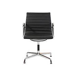 EA108 Aluminium Group Chair black