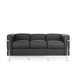 LC2 3 Seater Sofa - Le Corbusier